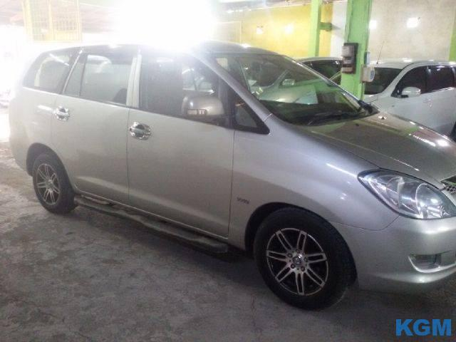 Innova Type E 2007 Manual Asli Bali