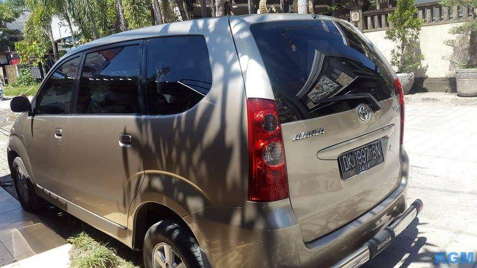 Avanza Type E 2008 Manual Asli Bali